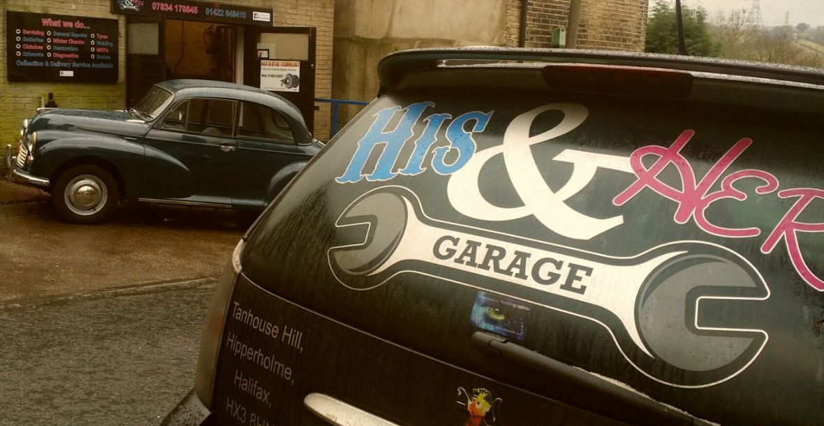 His & Hers Garage Hipperholme – His & Hers Garage offer the highest ...
